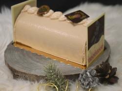 Bûche Coco Praliné - Aux délices de Christophe
