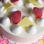 Gâteau Vacherin Fraise - Aux Délices de Christophe