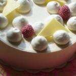 Gâteau Vacherin Framboise - Aux Délices de Christophe